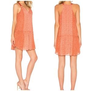 Joie Hirani silk dress in pink size medium